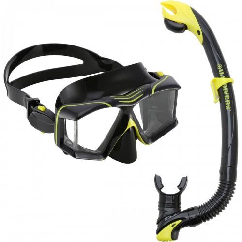 Комплект маска и трубка SIDEVIEW U.S. Divers