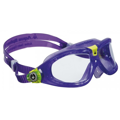 Детские очки для плавания Aqua Sphere Seal Kid 2 purple (6-12 лет)