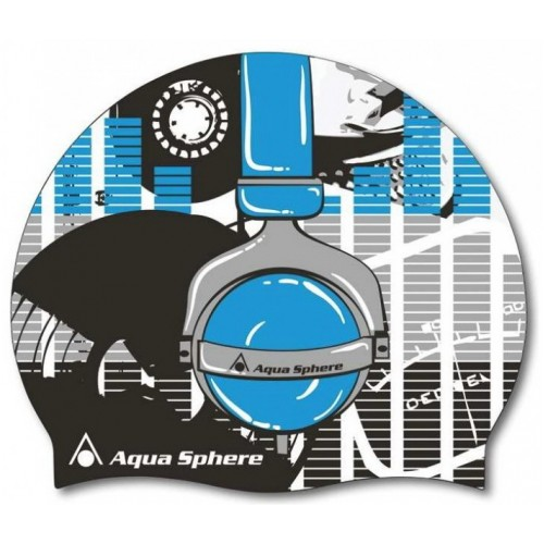 Шапочка для плавания Headphones Aqua Sphere